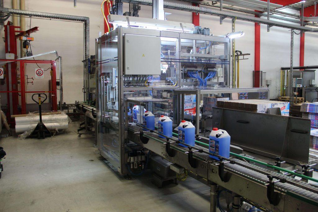 Balici stroj M.A.S. Automation kanystry 1 1