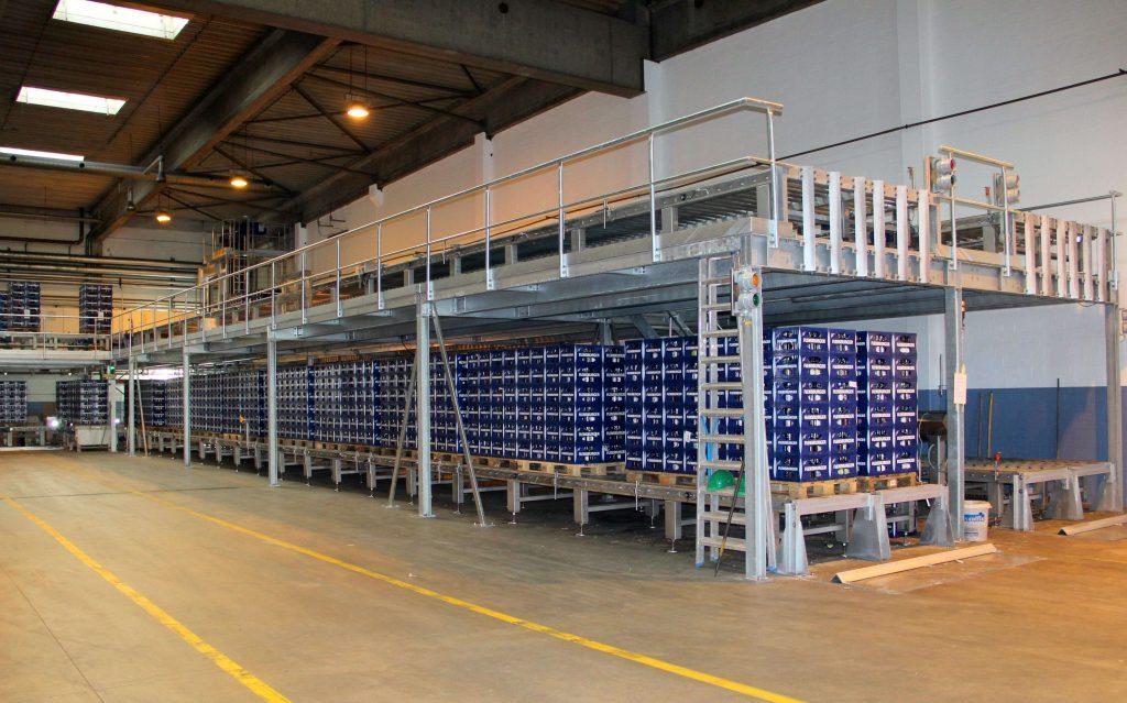 Transportni system M.A.S. Automation 4 1 2